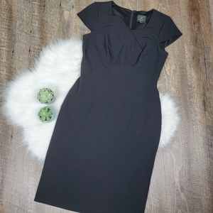 Adrianna papell cap sleeve sheath dress